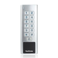 BCCS Keypad Stand-alone Access Control-WMK2-EHM-EM-HID-Mifare-Reader-inc-Blue-Tooth-Module