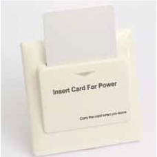 Energy Saving Card Saving Device -  White