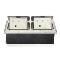 Double-Floor-Socket-AU-Approved Switched-Double-Socket