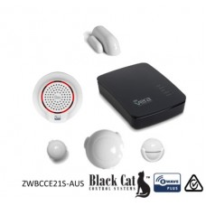 Black Cat Z-Wave Edge Security Starter Kit