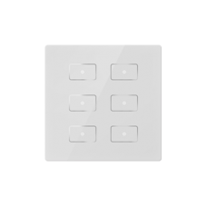 KNX-Capacitive-Touch-Buttons-6-buttons-White