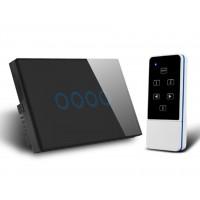 QUBINO RF433- Smart Switch-4 Gang
