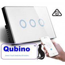 QUBINO WiFi- Smart Switch-3 Gang