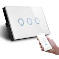 QUBINO WiFi- Smart Switch-3 Gang