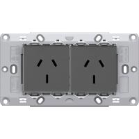 TAS Double  Socket Assembly- Matt Black