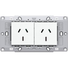 TAS Double  Socket Assembly- Matt  White