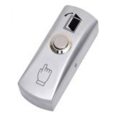 SAAS Metal Slim Exit Button
