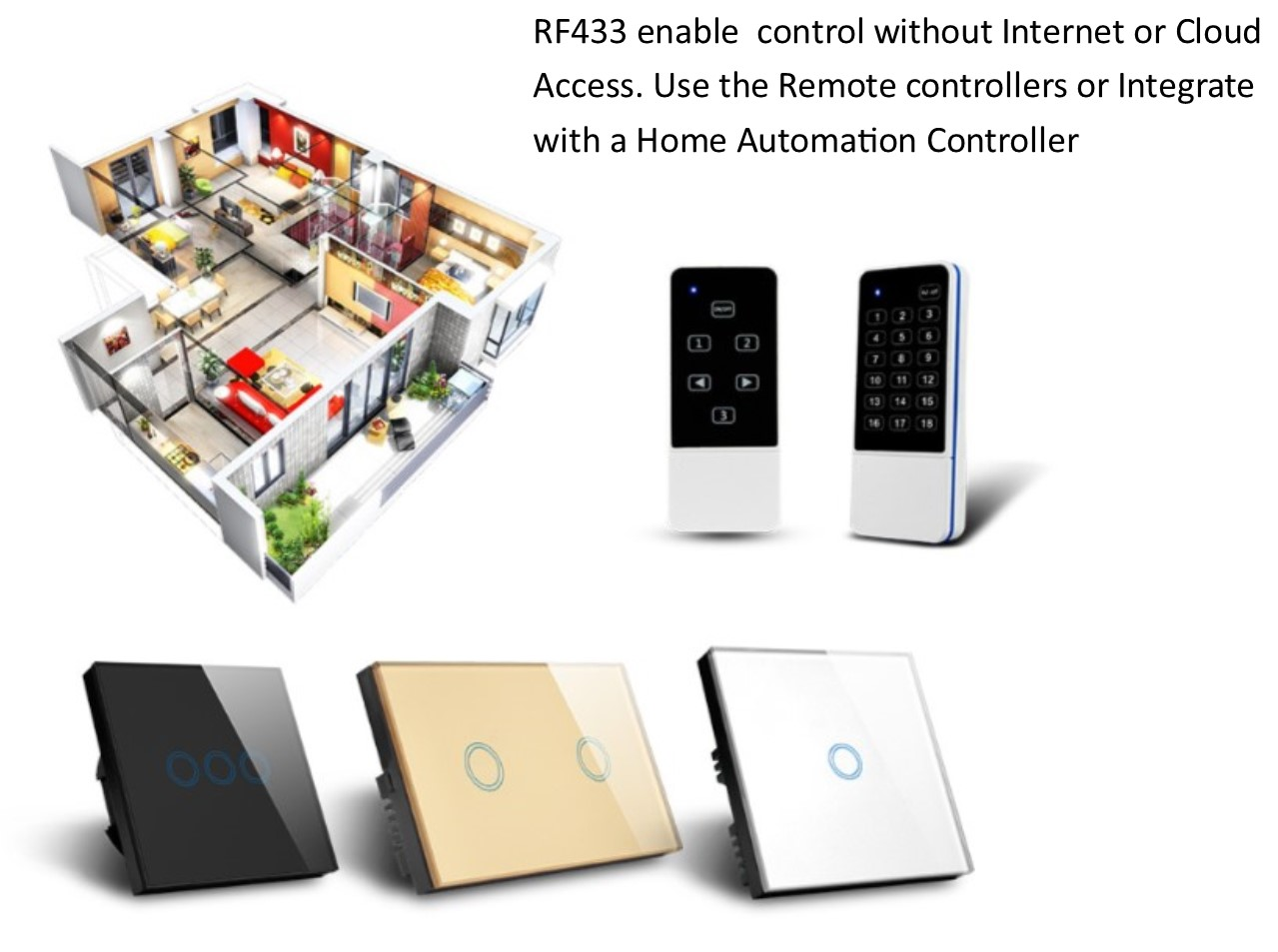 QUBINO - IOT - WiFi Smart Switches-The Internet of Things